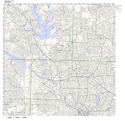 Amazon.com: Carrollton, TX ZIP Code Map Laminated: Home ... on griffin texas map, bryson texas map, gordonville texas map, deming texas map, flowermound texas map, wadsworth texas map, dalton texas map, roswell texas map, bovina texas map, jonesboro texas map, ohio texas map, auburn texas map, concepcion texas map, desoto texas map, bremen texas map, robson ranch texas map, sidney texas map, browning texas map, castleberry texas map, paluxy texas map,