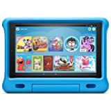 """Fire HD 10 Kids Edition Tablet – 10.1"""" 1080p full HD display, 32 GB, Blue Kid-Proof Case (2019 Release)"""