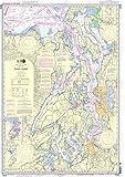 Cheap NOAA Chart 18440: Puget Sound