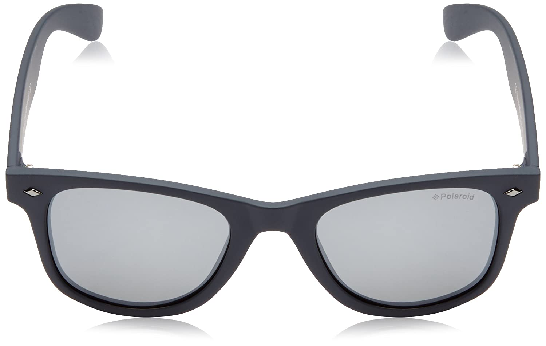 Polaroid Herren PLD 1016/S JB MY7 Sonnenbrille, Blau (Solid Blue/Grey Silmir Pz), 50