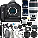6Ave Canon EOS-1D X Mark II DSLR Camera International version (No Warranty) + Canon EF 100-400mm L IS II USM Lens + Battery Grip Wildlife and Sports Photography Bundle
