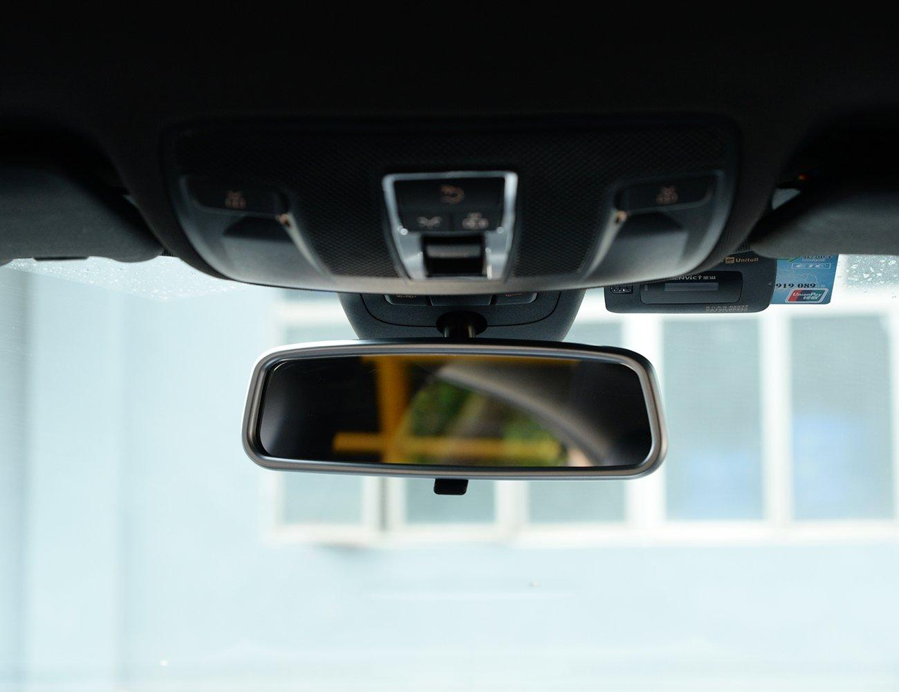 metyoucar ABS cromado marco de interior Espejo retrovisor de coche accesorios