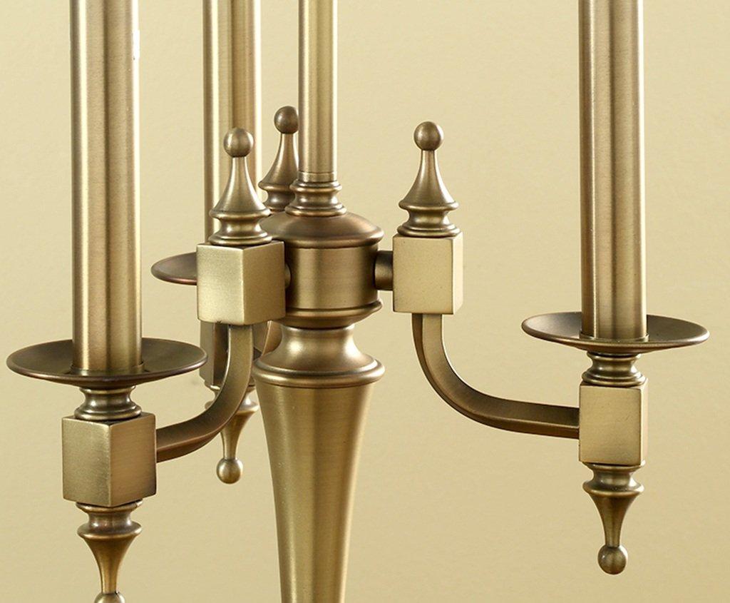 Kerze Tischlampe Tischlampe Tischlampe American Atmosphere Luxus Dekoration Wohnzimmer Schlafzimmer Nachttischlampe E27 B07GLSG71L   Sonderpreis  4b9a7c