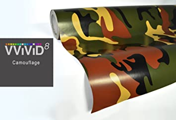 Woodland Camo vinyl car boat vehicle wrap Sticker