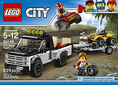 LEGO City Great Vehicles ATV Race Team 60148 Building Kit from LEGO
