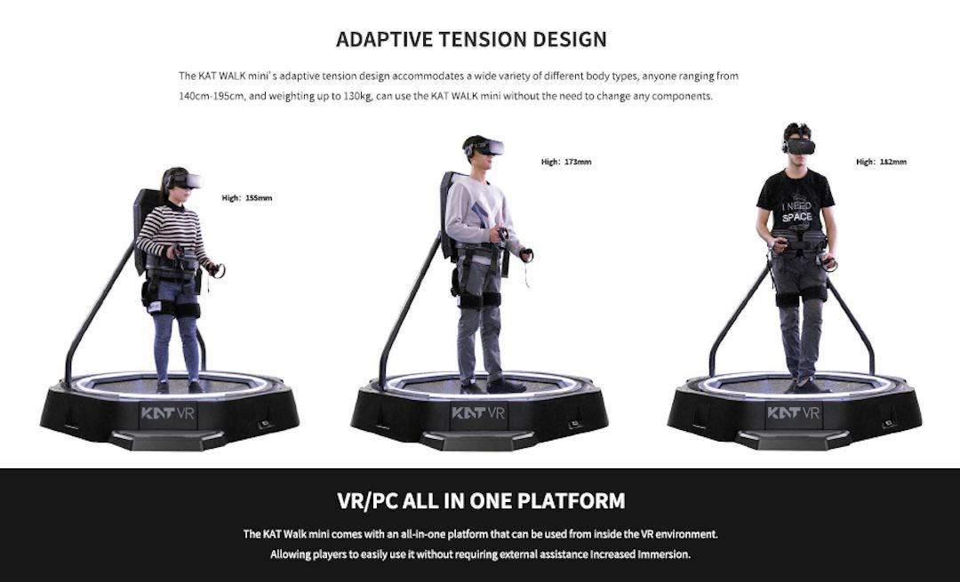 Amazoncom Kat Walk Mini Kat Vr Omni Directional Treadmill