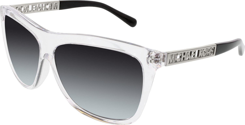 6f22a77843 Michael Kors 6010 301511 Clear Benidorm Wayfarer Sunglasses Lens Category  3  Amazon.co.uk  Clothing