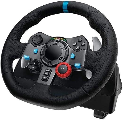 WSMLA RS Racing Ruedas for la Playstation 4 3 y la Rueda de PC, Juego del Volante, Volante de Carreras Driving Force y Pedales (PS4 / PS3 y PC): Amazon.es: Hogar