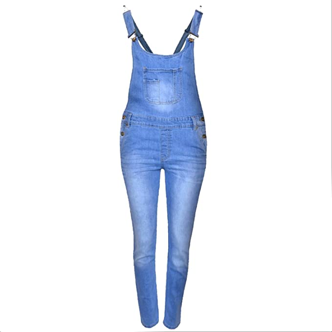 Amazoncom Kids Girls Denim Jeans Dungaree Full Length