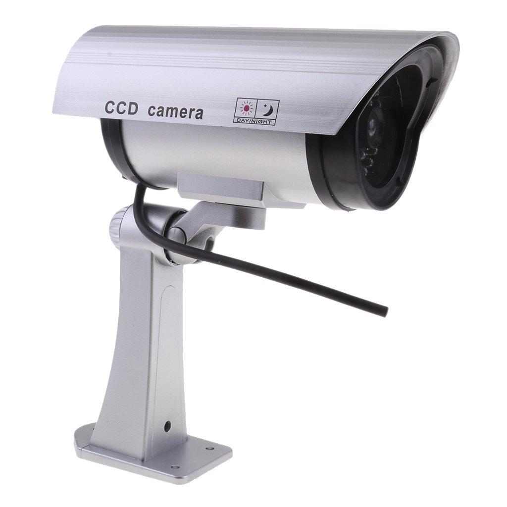 50%OFF baosityダミーセキュリティカメラリアルな外観で録音点滅赤色LEDライトインドアとアウトドア使用、Homes &ビジネスのシルバー   B07CY1TMZ1, ミツボシ雑貨店:2c6e4241 --- martinemoeykens-com.access.secure-ssl-servers.info
