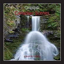 Canadian Geographic Canadian Scenes 2017 Mini 7x7 Wall Calendar