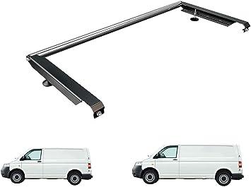 Van Guardia Ulti Bar escalera trasero de aluminio rodillo para VW Transporter T5 (03 – 15) [granero puertas]: Amazon.es: Coche y moto