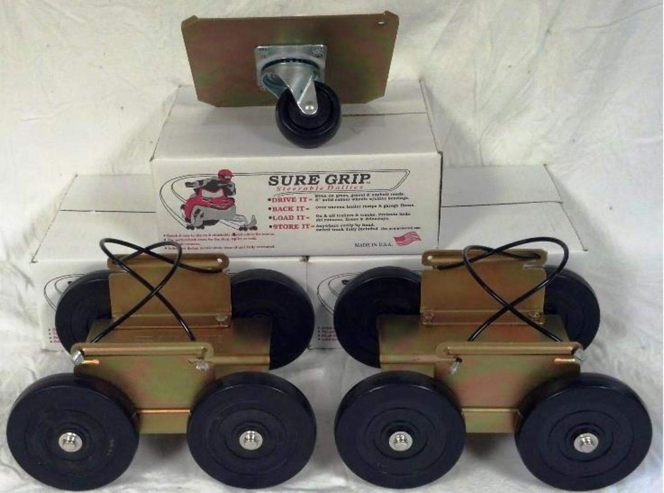 Sure Grip Dollies Drivable Dolly - 3 Piece Long Set PS-6112 CECOMINOD015123