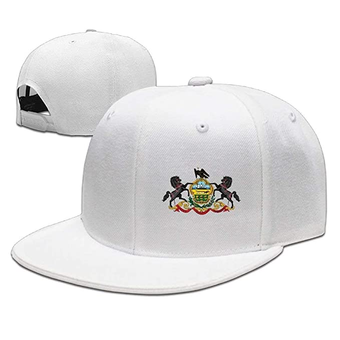 67de54d533d36 Image Unavailable. Image not available for. Color  Pennsylvania Flag  Element Design Solid Flat Bill Hip Hop Snapback Baseball Cap ...