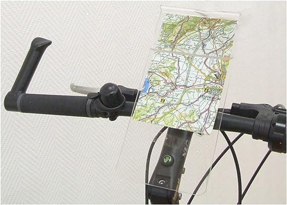 KlickFix Portamapas Mini Map 1 - Bolsa manillar - gris ...