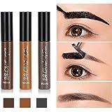 MMRM2 Long Lasting Tattoo Eyebrow Gel Pack 6g, Women Peel Off Waterproof Eyebrow Tint Gel Cream - Three Colors for Choice - Dark Brown