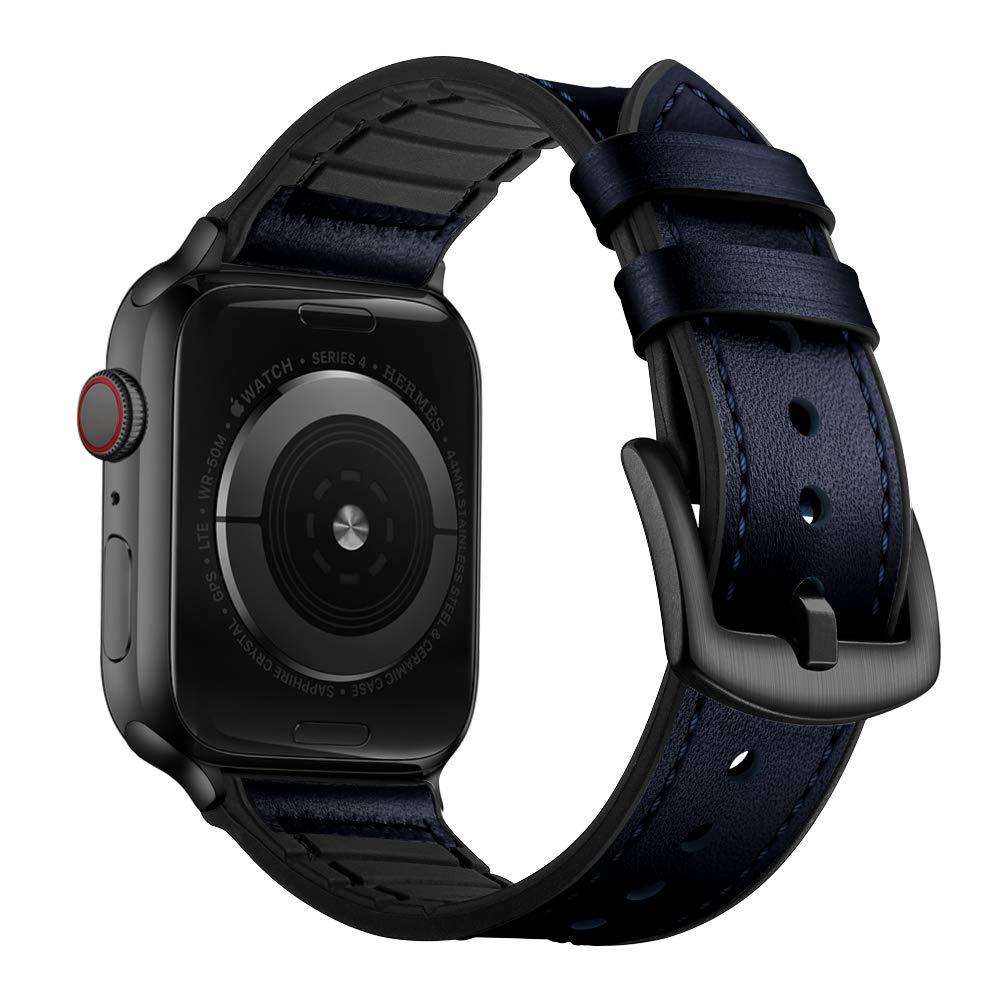 Malla Cuero para Apple Watch (42/44mm) OUHENG [7Q7YPYWF]