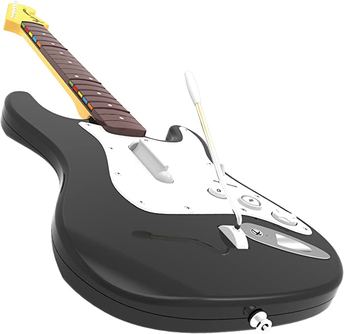 Rock Band 4 + Guitarra Wireless Fender Stratocaster, Color Negro ...