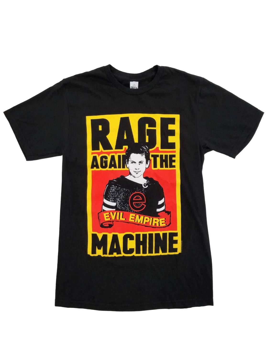 Live Nation Rage Against The Machine Evil Empire Mens Black Graphic T-Shirt Small