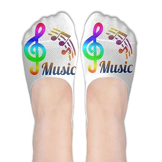 Amazon com: Musical Symbols Guitar Socks Fashion Anti Slip
