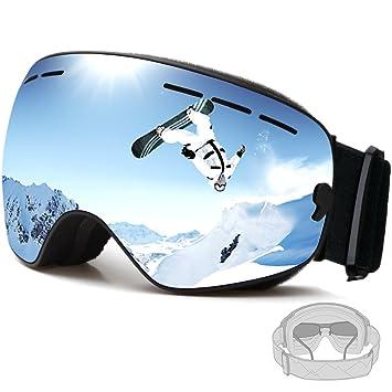 FENYI profesional gafas de esquí UV Protección Gafas para la nieve con UV 400 de doble