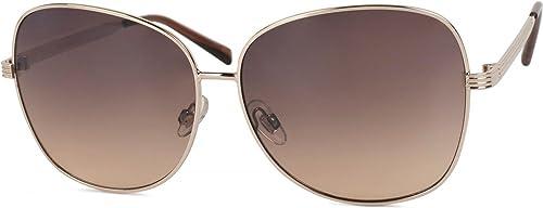 styleBREAKER occhiali da sole con lenti ovali in policarbonato e montatura intera, da donna 09020070