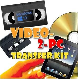 Video-2-PC DIY Video Capture Kit. For Windows 8.1, 8, 7