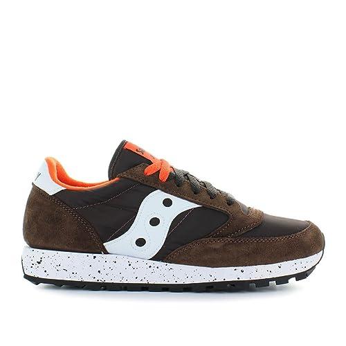SAUCONY scarpe sneaker uomo JAZZ ORIGINAL S2044-458 marrone e arancione 42  eu - 8.5 us - 7.5 uk  MainApps  Amazon.it  Scarpe e borse b3fae13d129