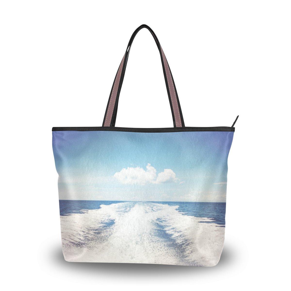 imobaby Ocean Women Large Tote Shoulder BagsTop Handle Handbag TE205