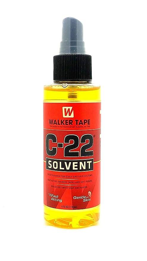 C22 Disolvente Espray 4oz Para Pelucas Y Tupés