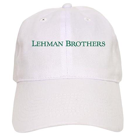 b953c3be7039f CafePress - Lehman Brothers - Baseball Cap with Adjustable Closure ...