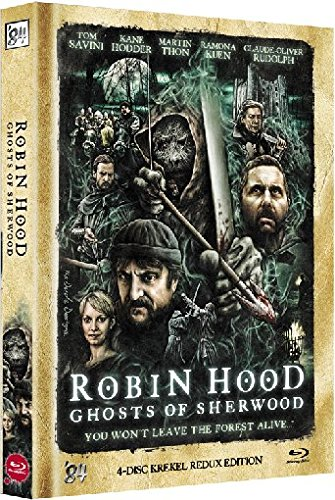 BD * BR+DVD Robin Hood - Ghosts of Sherwood - 4-Disc Redux Edition Mediabook - limitiert auf 500 Stk. [Blu-ray] [Import allemand]
