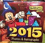 Walt Disney World 2015 Photo Album Autograph Book with Pen