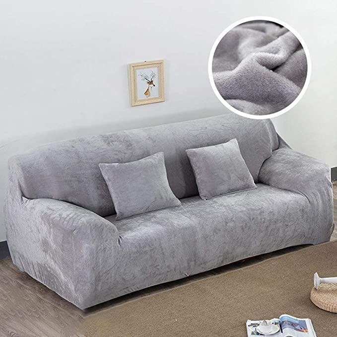 Amazon.com: Elevin(TM) 3 Seater Sofa Throws Sofa Cover ...
