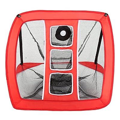 Anfan Golf Training Net, Portable Pop-Up Driving Range Net, Golf Driving Net with Target (US Stock)