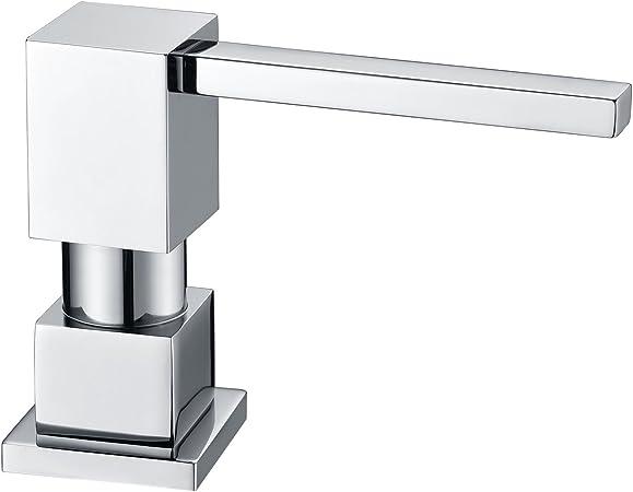 Fonveth LAZADA Modern Chrome Built in Pump Kitchen Sink Dish Soap  Dispenser, Dish Kitchen Soap Dispenser Pump