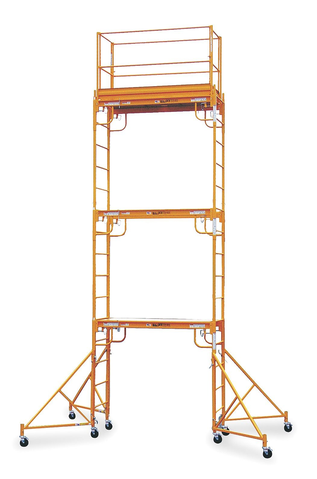 Scaffold Tower, 20-1/2 ft. H, Steel