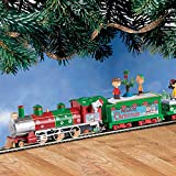 The PEANUTS Christmas Express Electric Train Set by Hawthorne Village