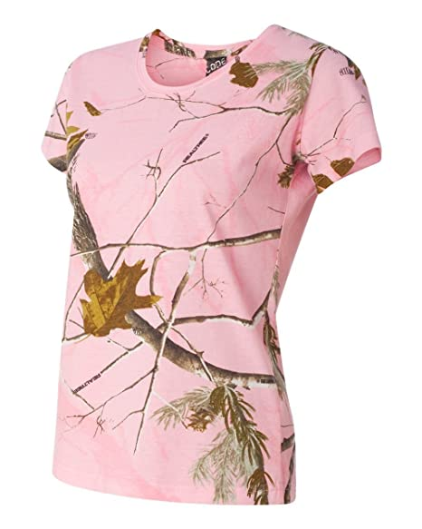 5e7d9266 Ladies' Realtree Camouflage T-Shirt, Color: RealTree AP Pink, Size ...