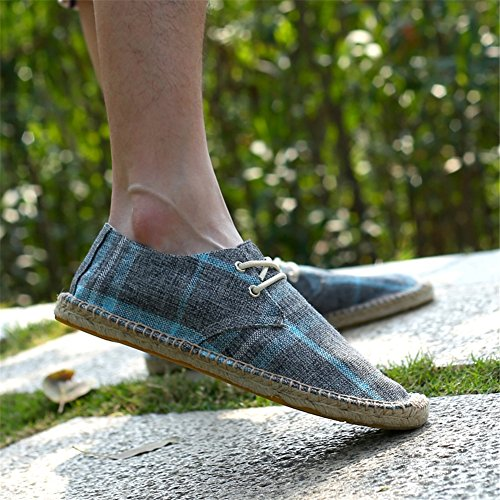Bottom Linen Comfort Shoes amp; Casual Loafers Spring ONS HUAN Canvas Fall Shoes A Summer for Slip Men's wgREqt