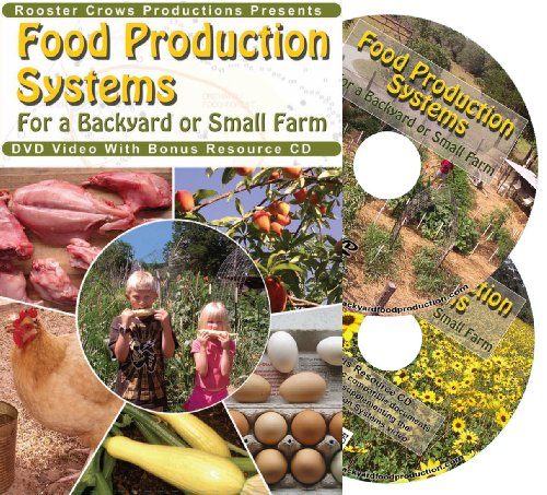 Food Production Systems for a Backyard or Small - Rooster Brown Leghorn