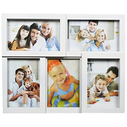 Buy Wallmantra Photo Frames Collage (White) Online at Low Prices in ...