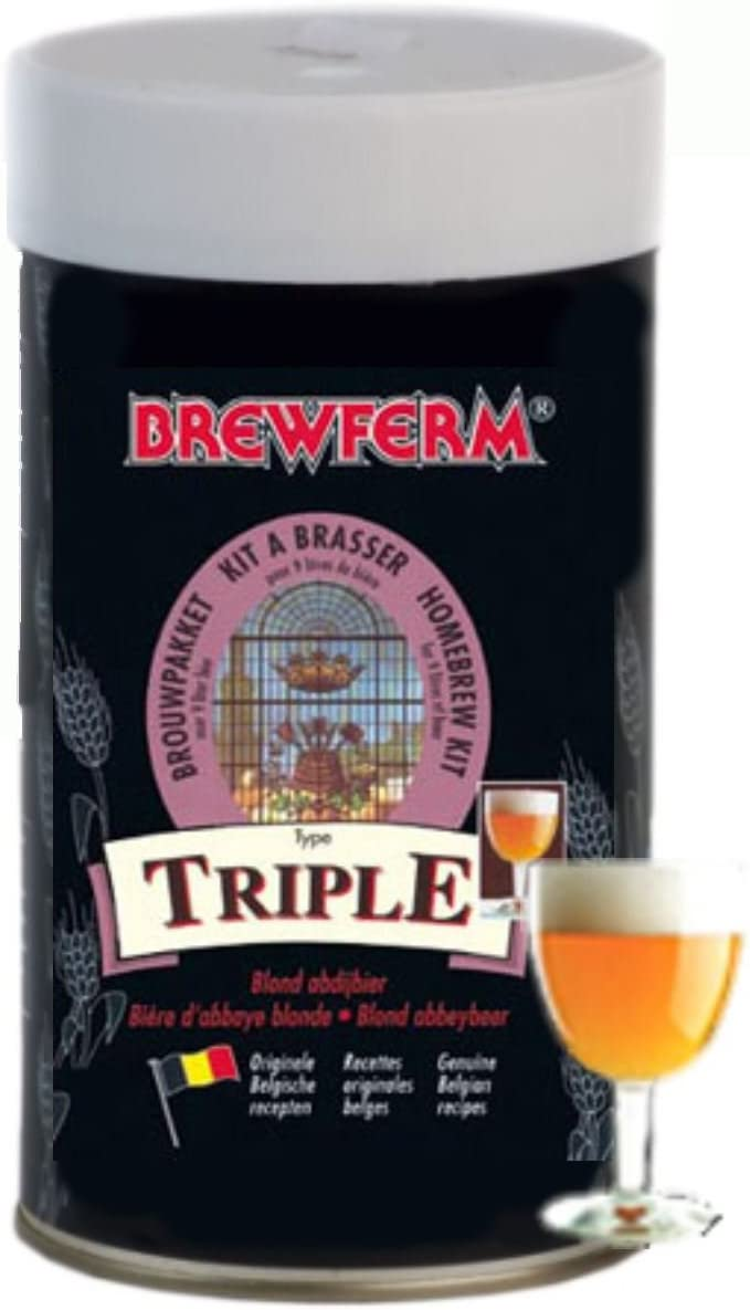 Brewferm - Kit De Ingredientes Triple - Dorada Triple Brewferm
