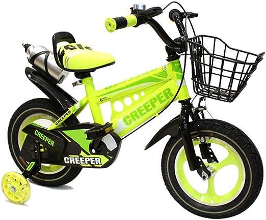 LQZHP - Bicicleta Infantil de 14 Pulgadas para niños de 2/4/6 años ...