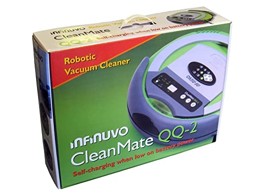 Infinuvo Cleanmate Robotic Vacuum Cleaner - Model QQ-2 Green