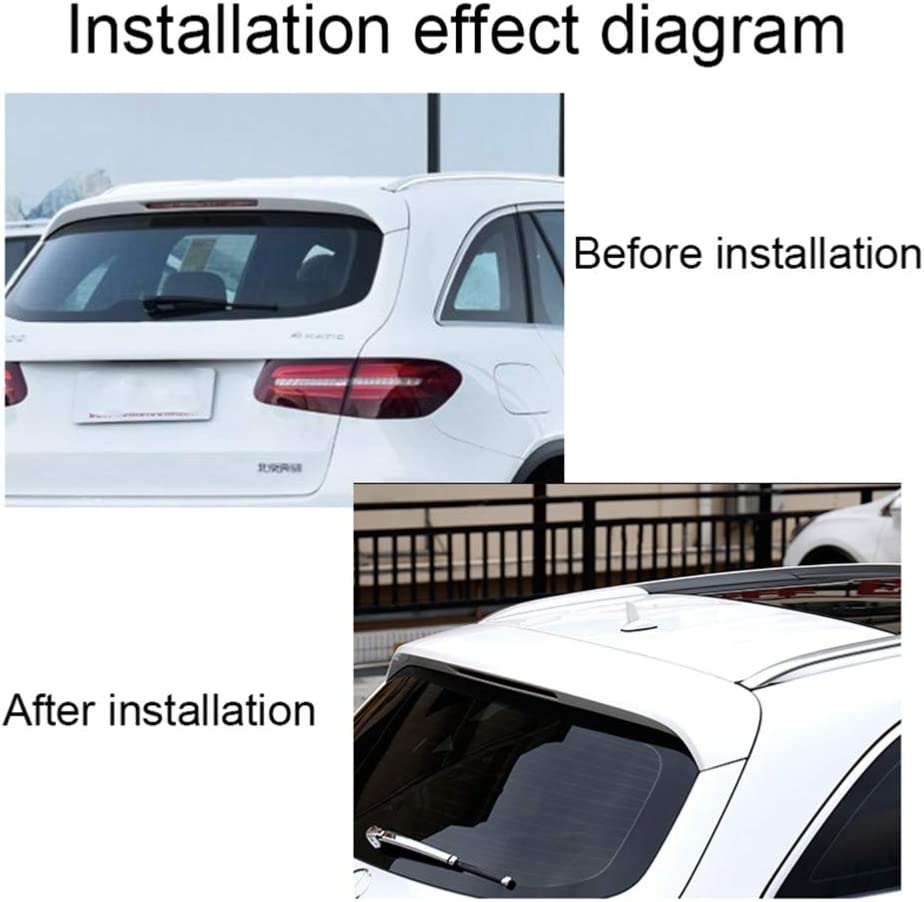 XLTWKK Car Styling Car Decorative Aerial Special Car Roof Tail Imperm/éable Shark Fin Antenna for Mercedes Benz CLA Class