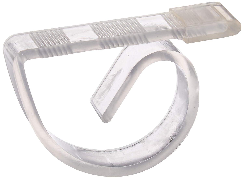 Darice 1162-15 4 Piece Clear Plastic Table Cloth Clip