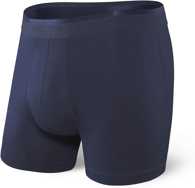 Saxx Underwear Mens Boxer Briefs Boxer Briefs with Fly and Built-in Ballpark Pouch Support Platinum Men/'s Underwear