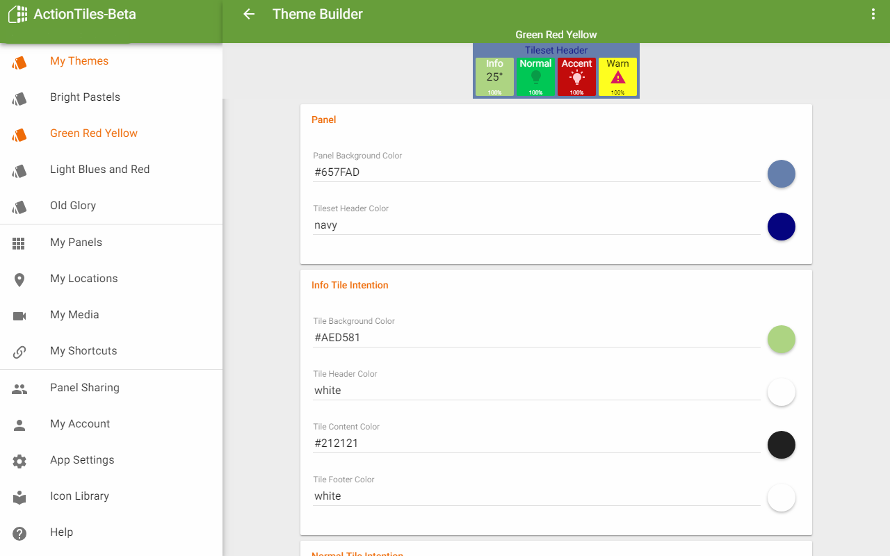 ActionTiles SmartThings custom web dashboard maker & viewer for FireOS