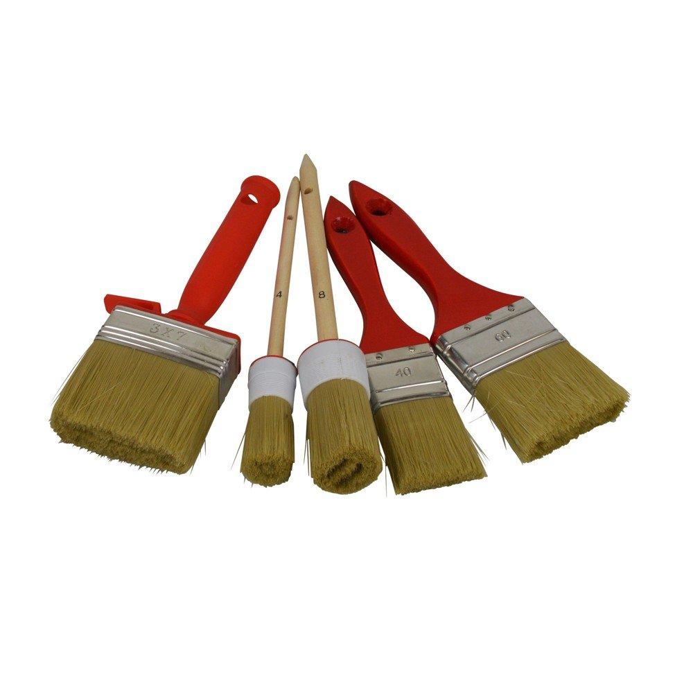 Forets lackierpinsel/pinceaux avec poils naturels de couleur claire Proteam Direkt